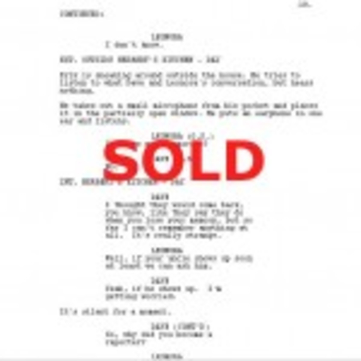 how to sell your script 2