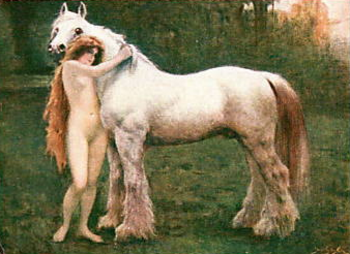 Nude with Horse