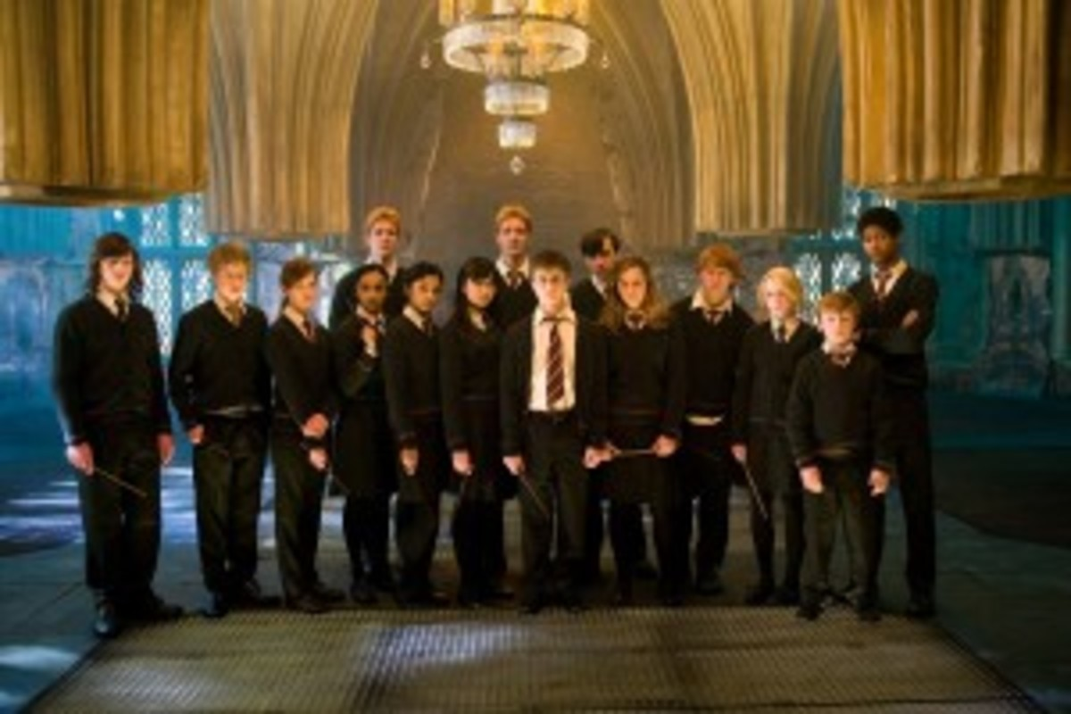 "Harry has an entire ""army"" of reflection characters in The Order of the Phoenix."