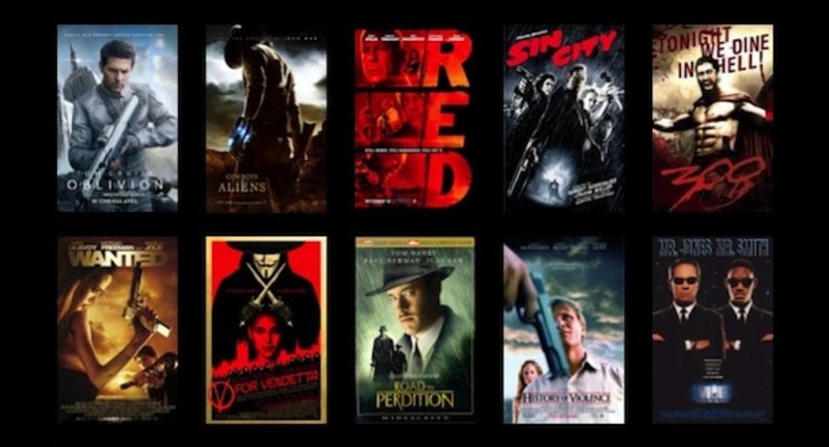 movies based on comic books