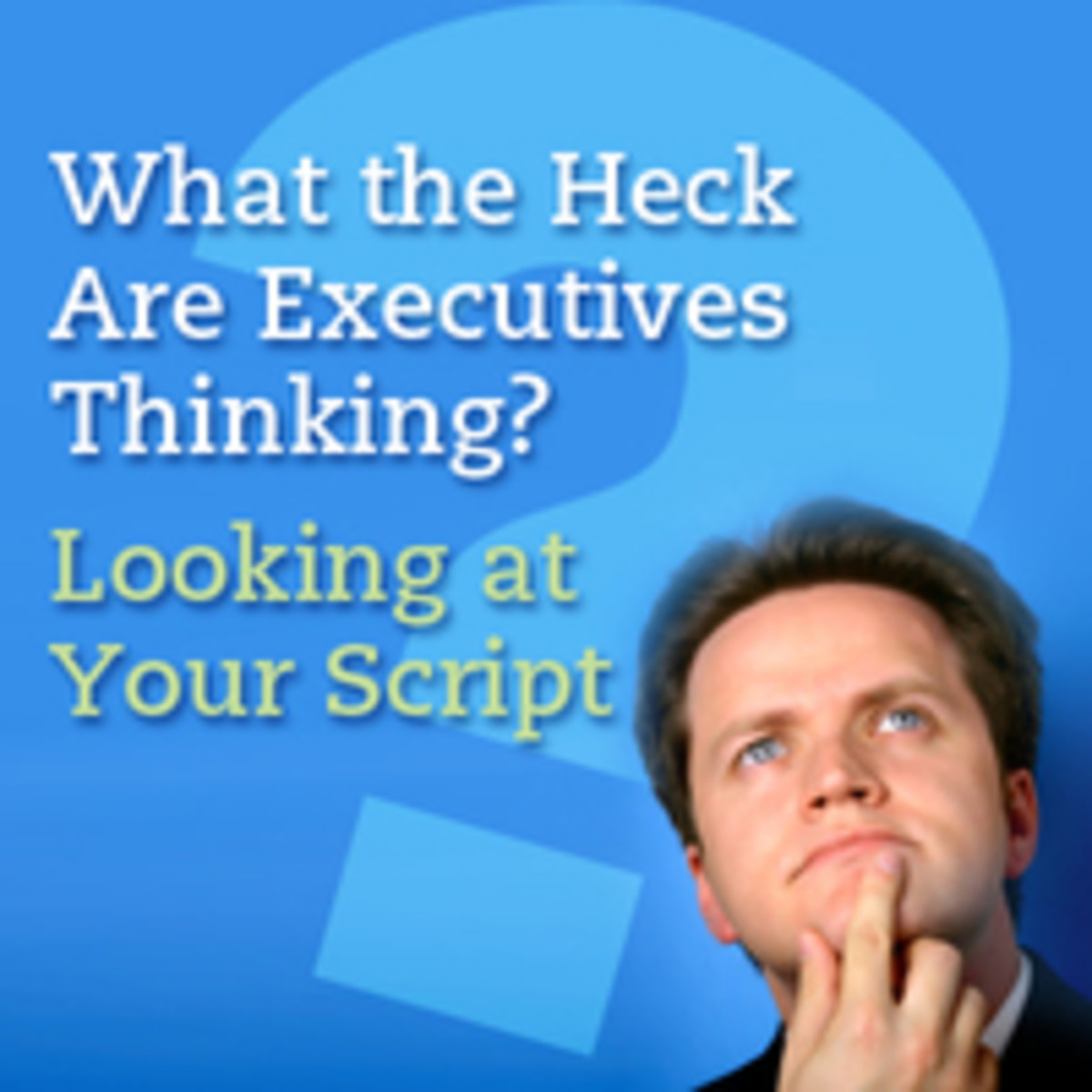 What the Heck Are Executives Thinking? Looking at Your Script from the Exec's Point of View