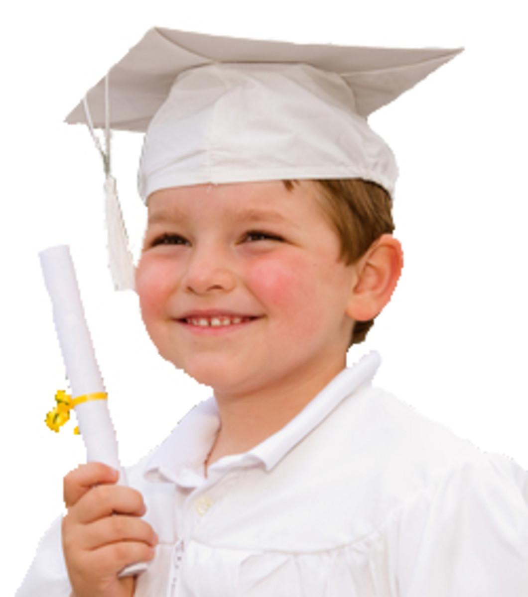 KIndergarden Graduation Bachelor of Rhymes