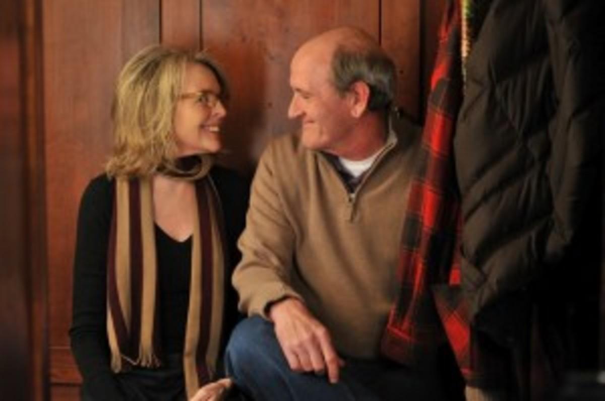 Diane Keaton and Richard Jenkins in 'Darling Companion'