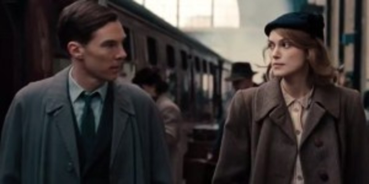 The relationship of Alan Turing and Joan Clarke (Keira Knightley) can easily be misread as a budding romance.