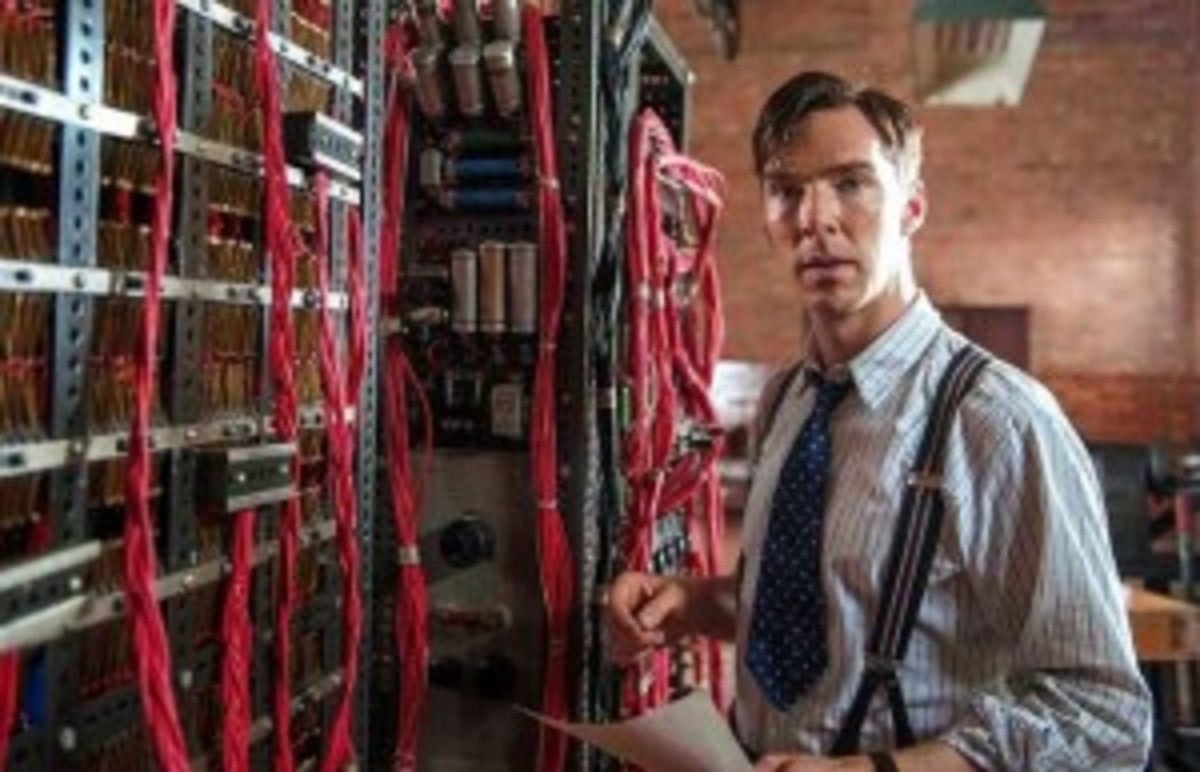 The storytellers in The Imitation Game face the problem of making abstract puzzles and the building of a computer visual interesting and dramatically engaging.