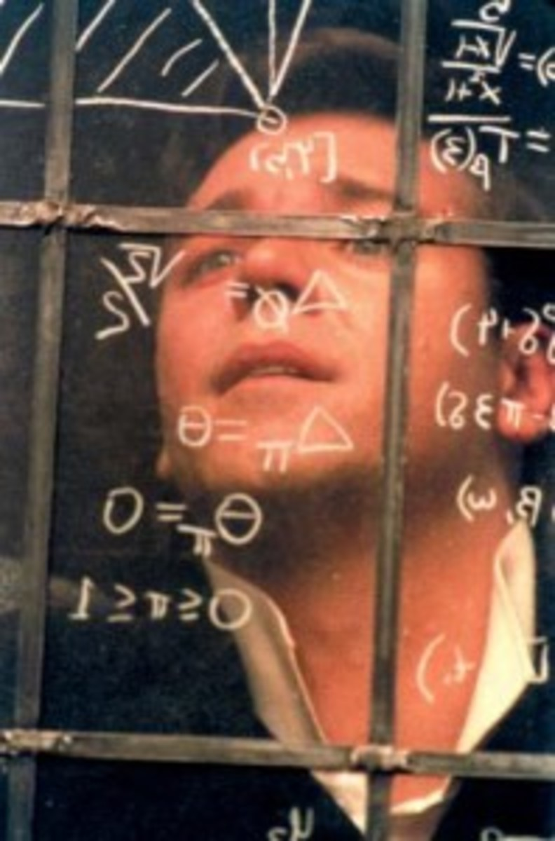Russell Crowe stars as John Nash in A Beautiful Mind. All pictures courtesy of Eli Reed. ©2001 Universal Studios. All rights reserved