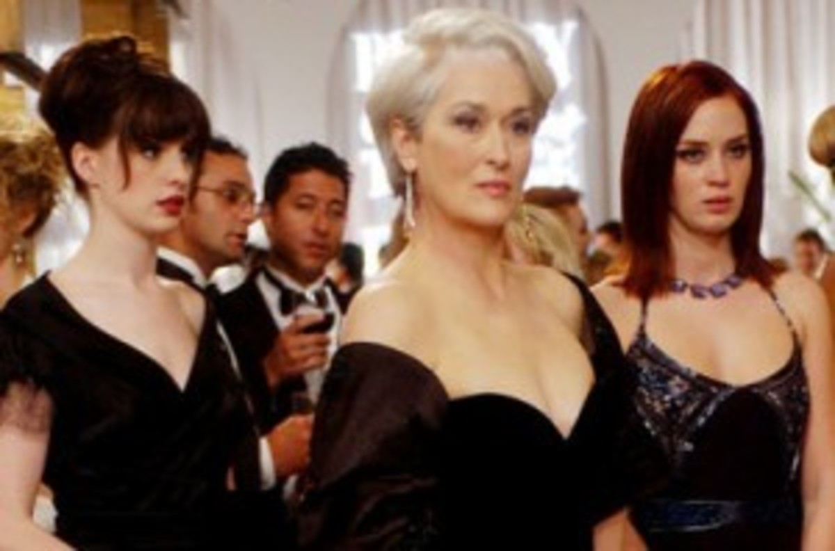 Emily and Andrea both serve as assistants to Amanda Priestly in The Devil Wears Prada.