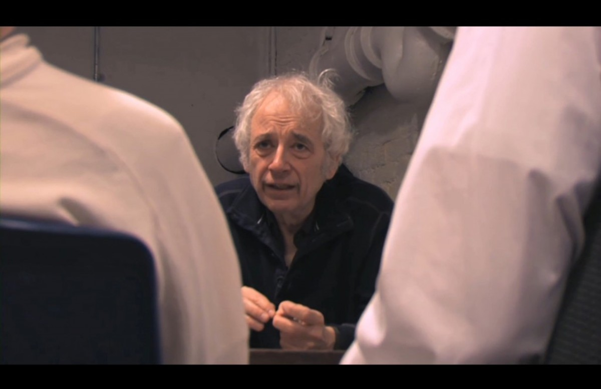 Austin Pendleton teaching a class at HB Studios in the West Village of Manhattan 2011. Shot by Greg Vanderveer. Directors Gene Gallerano and David H. Holmes