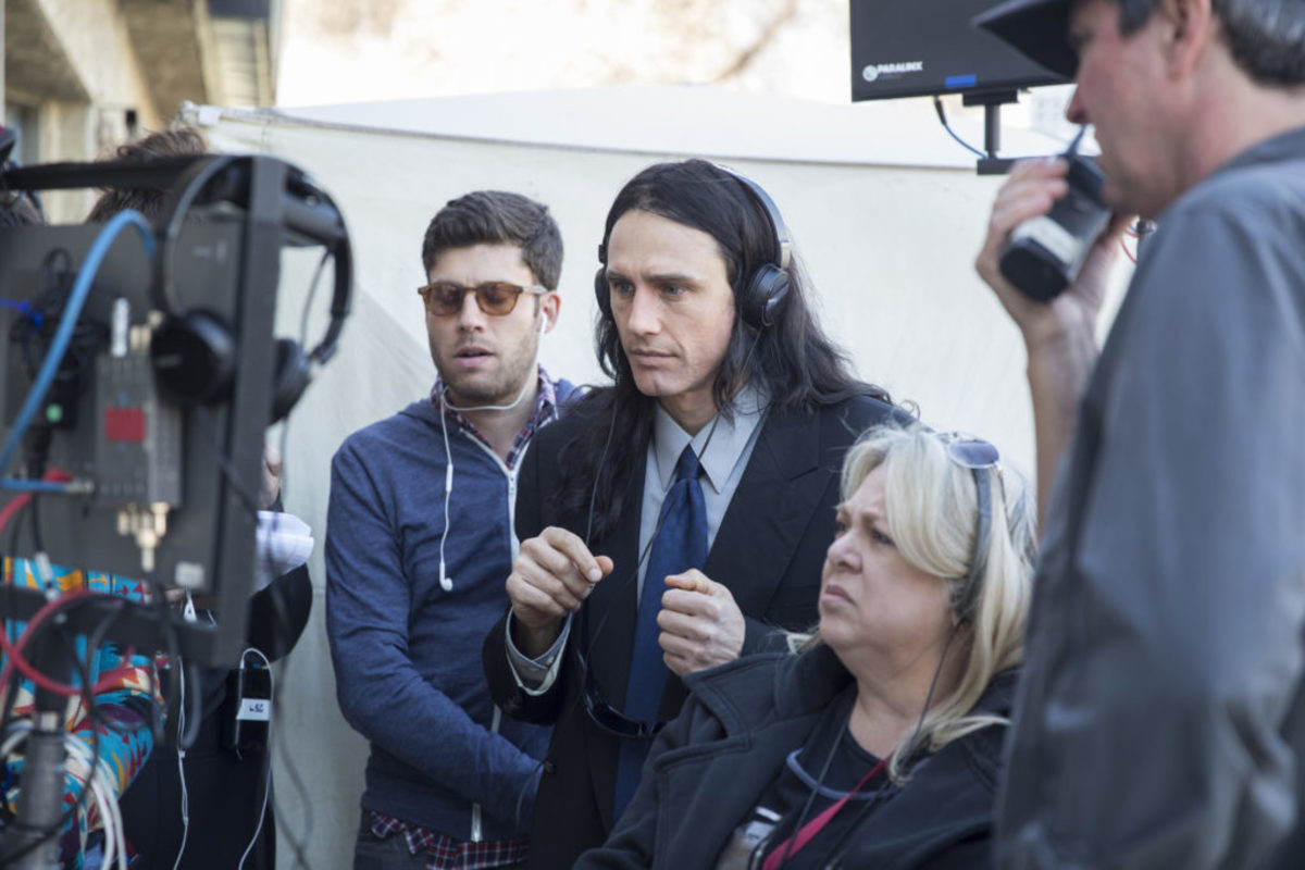 James Franco on the set of The Disaster Artist. Photo by Justina Mintz, courtesy of A24.
