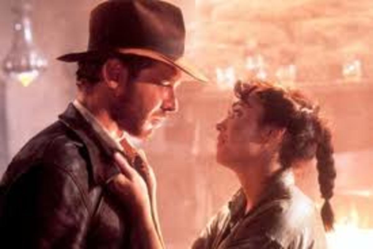 Indy and Marion, the perfect couple.