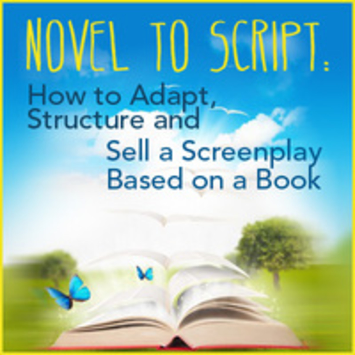 How to turn a book into a movie demystified and other helpful tips about adapting books into screenplays.