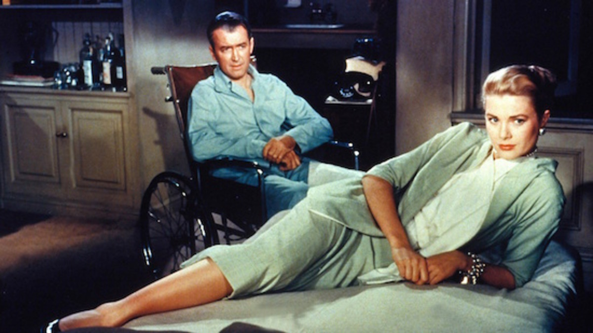 Hitchock's Rear Window explored the terror of a confined man witnessing a murder and unable to escape as the killer discovers his only loose end.