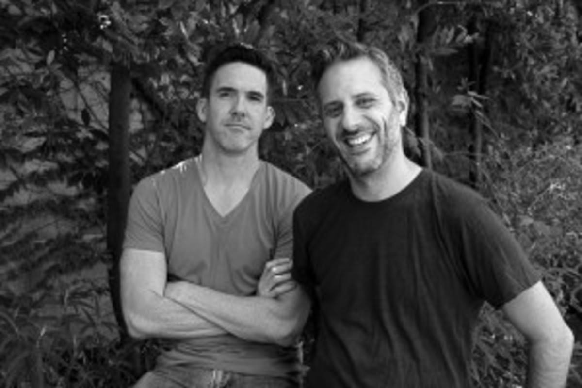 'Vito' editor Philip Harrison (left) and producer-director Jeffrey Schwarz - Photo by Peter Hanson