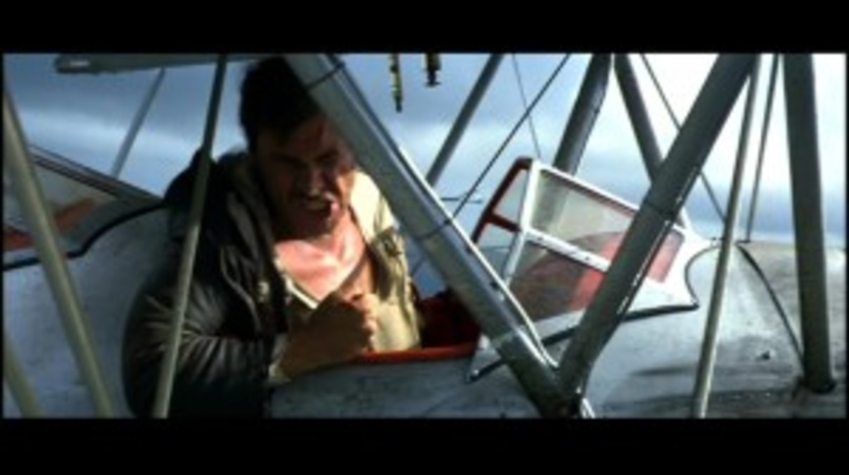 There's a big snake in the plane, Jock!