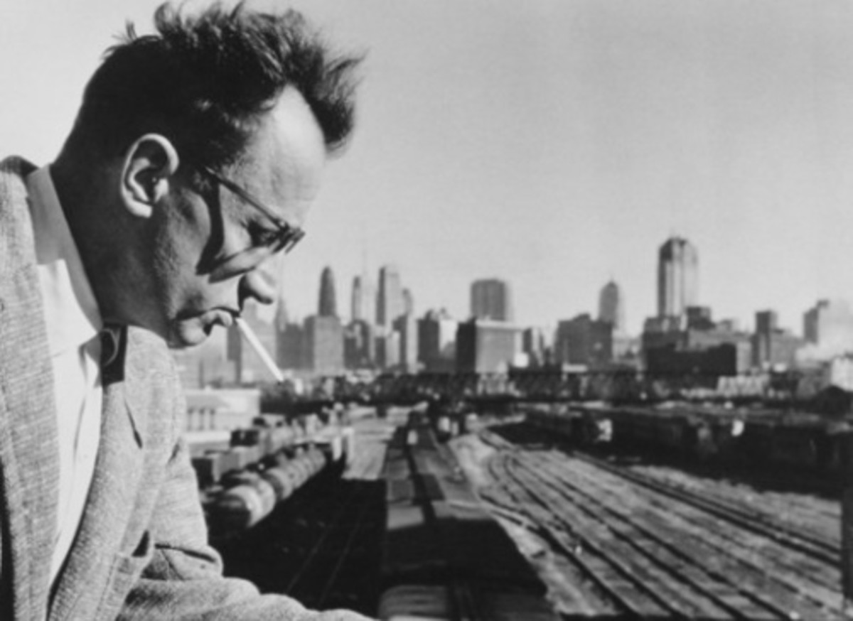 "Nelson Algren and the ""City on the make,"" 1950s"