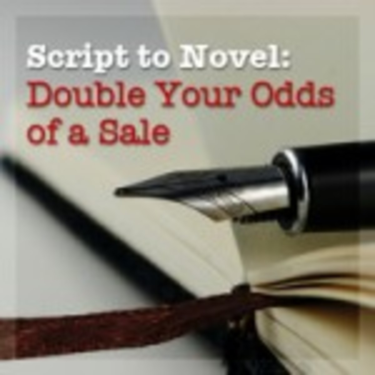 Script to Novel: Double Your Odds of a Sale Webinar