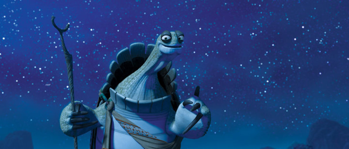 Oogway is the mentor to the mentor in Kung Fu Panda.