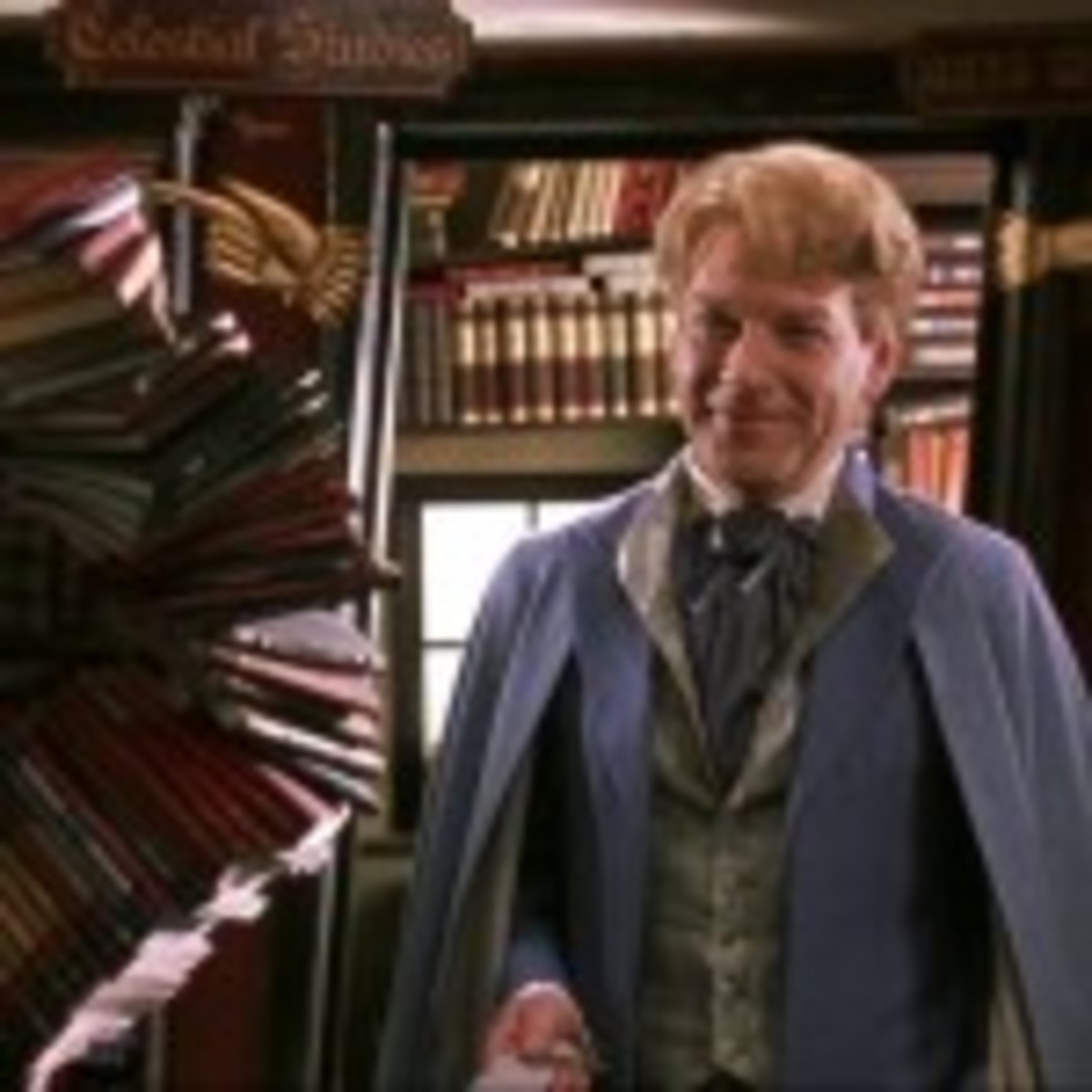 Gilderoy Lockhart in Harry Potter and the Chamber of Secrets.