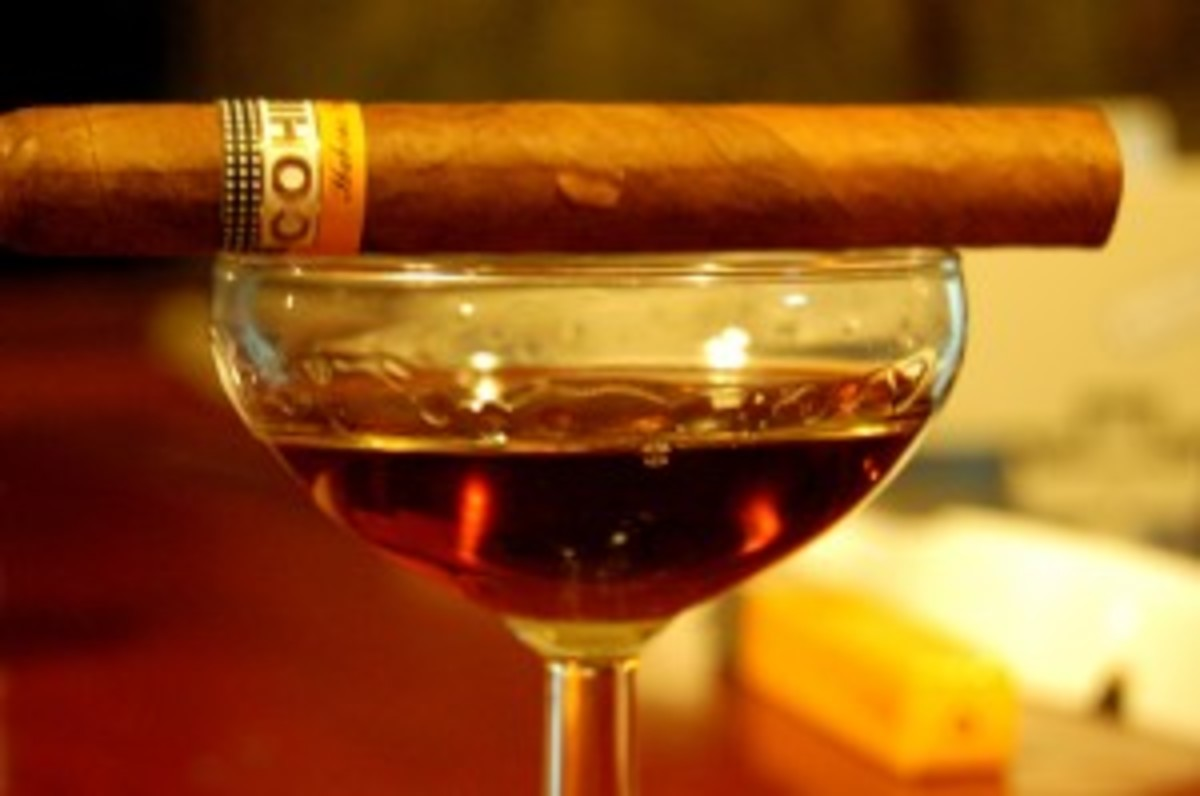Cohiba and Rum
