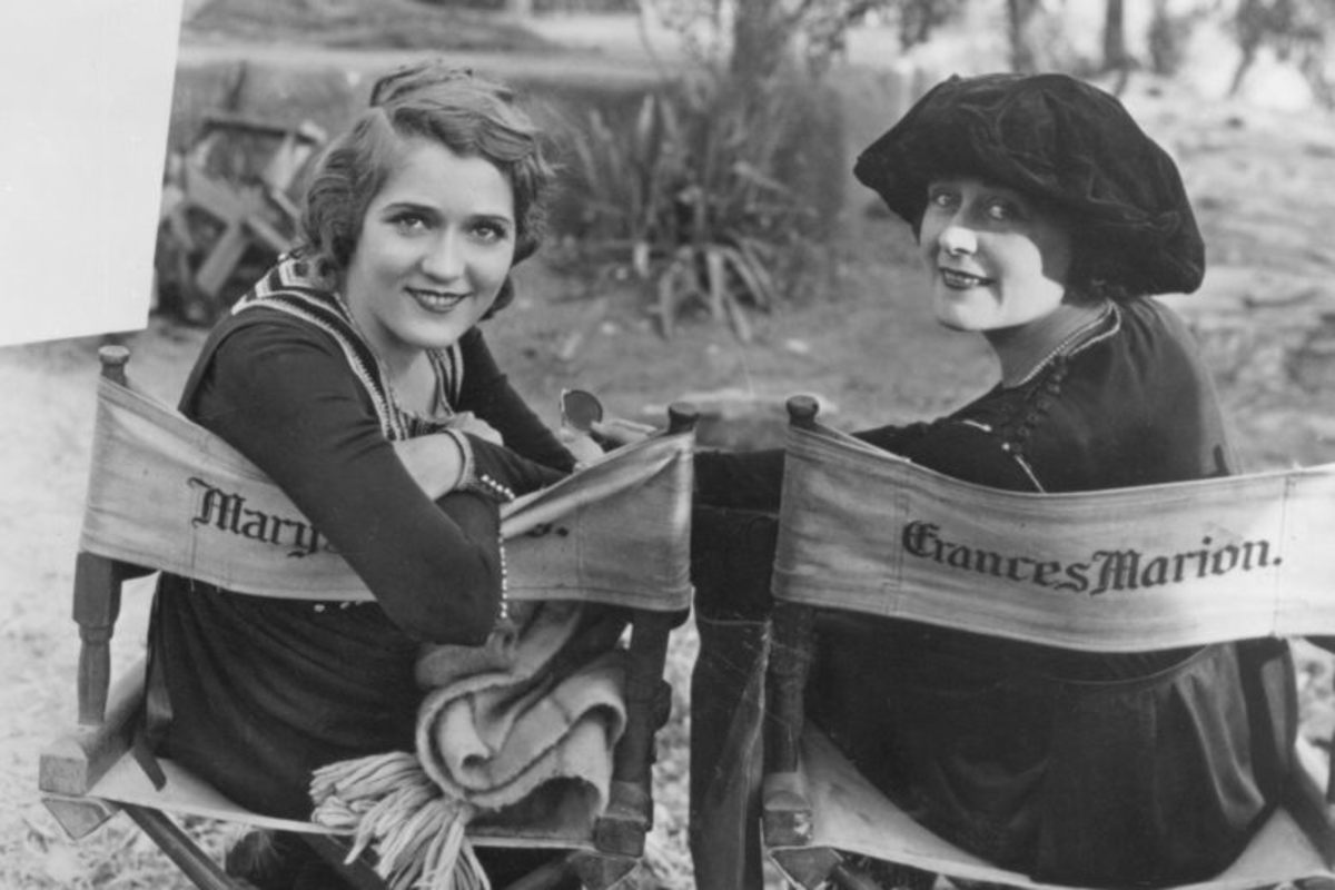 While today's female filmmakers are demanding equality for women, Frances Marion (1888-1973) was one of the most in-demand screenwriters of her time, winning two screenwriting Oscars in the 1930s. Perhaps we need to roll back the clock and allow history to repeat itself.