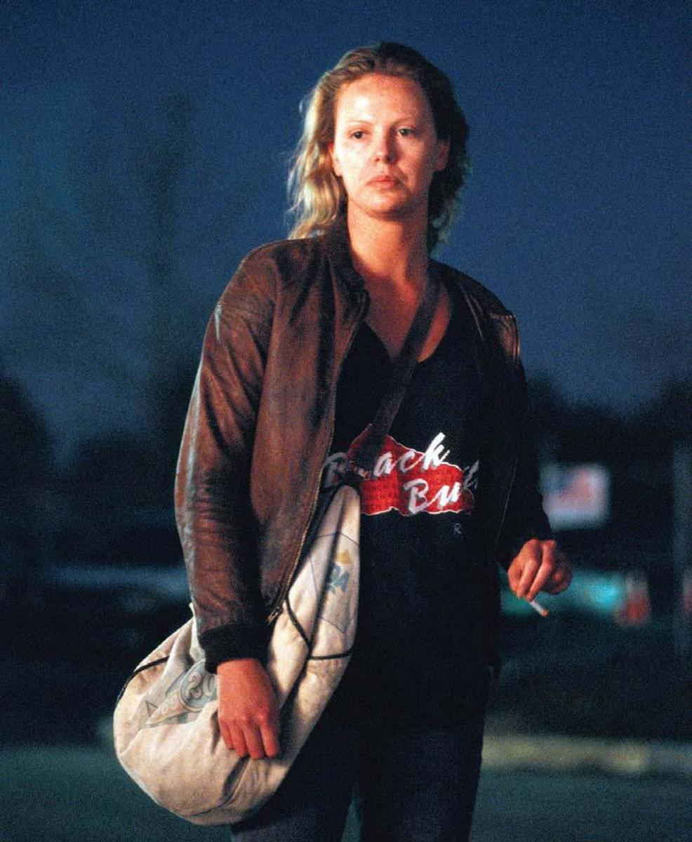 Charlize Theron's Oscar-winning role as Aileen Wuornos in Monster Photo: Newmarket Films