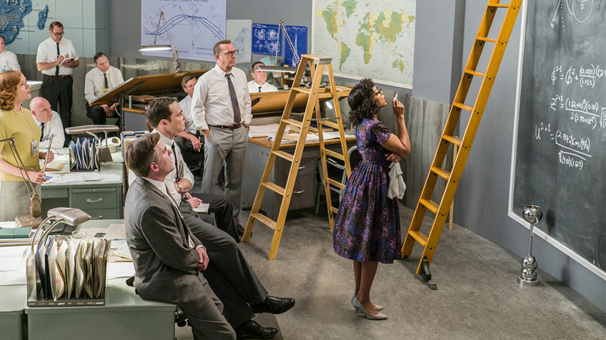"Taraji P. Henson (far right) shows NASA the right stuff in ""Hidden Figures."""