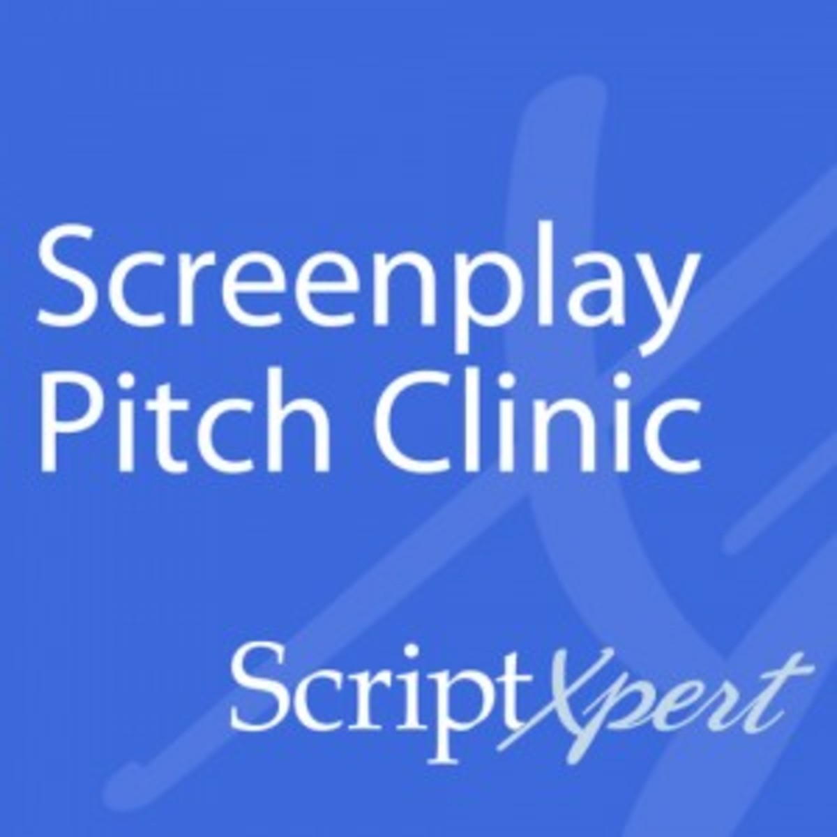 ScriptXpert Screenplay Pitch Clinic
