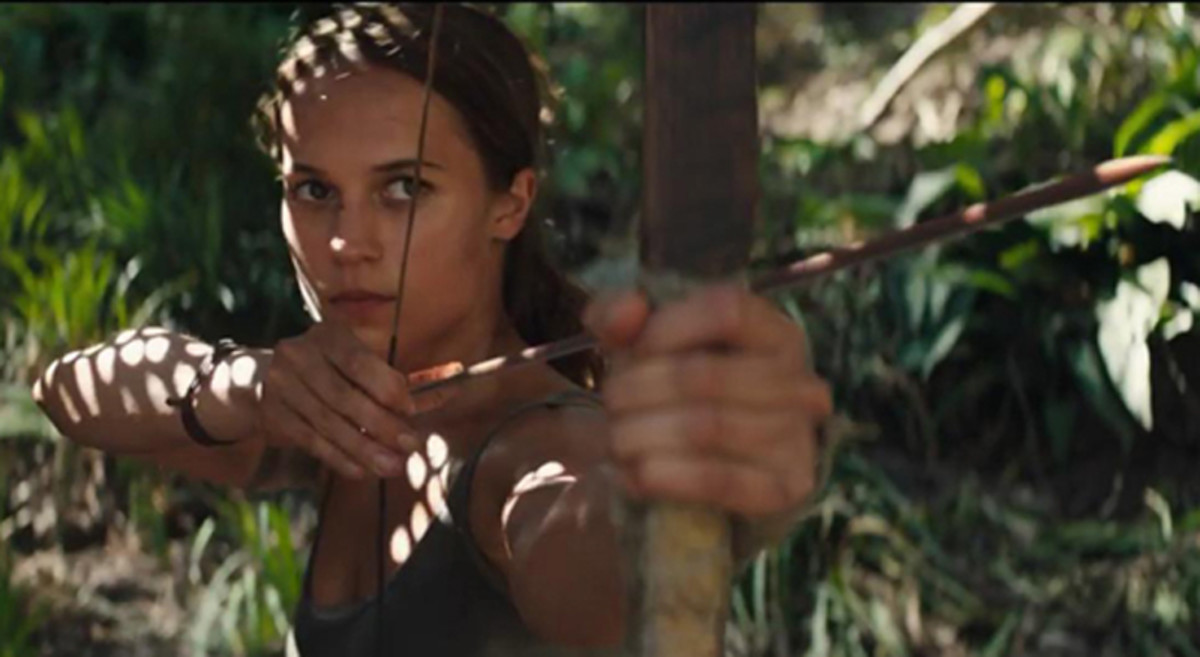 "Alicia Vikander is untested but resourceful as Lara Croft in ""Tomb Raider."""