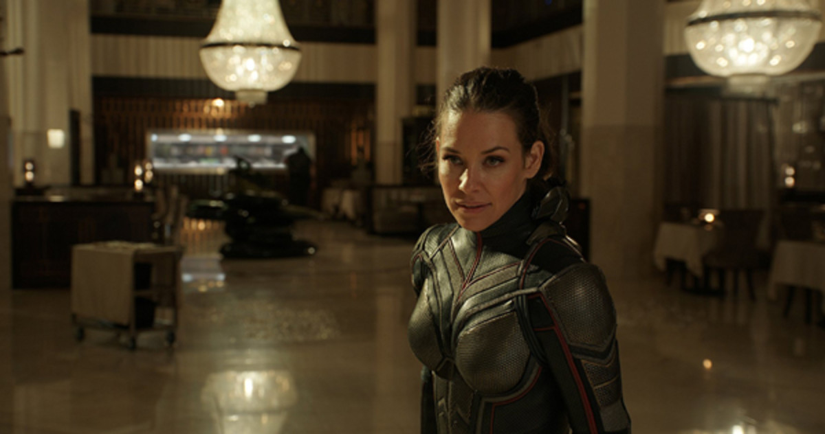"Evangeline Lilly takes flight this summer in ""Ant-Man and The Wasp."""