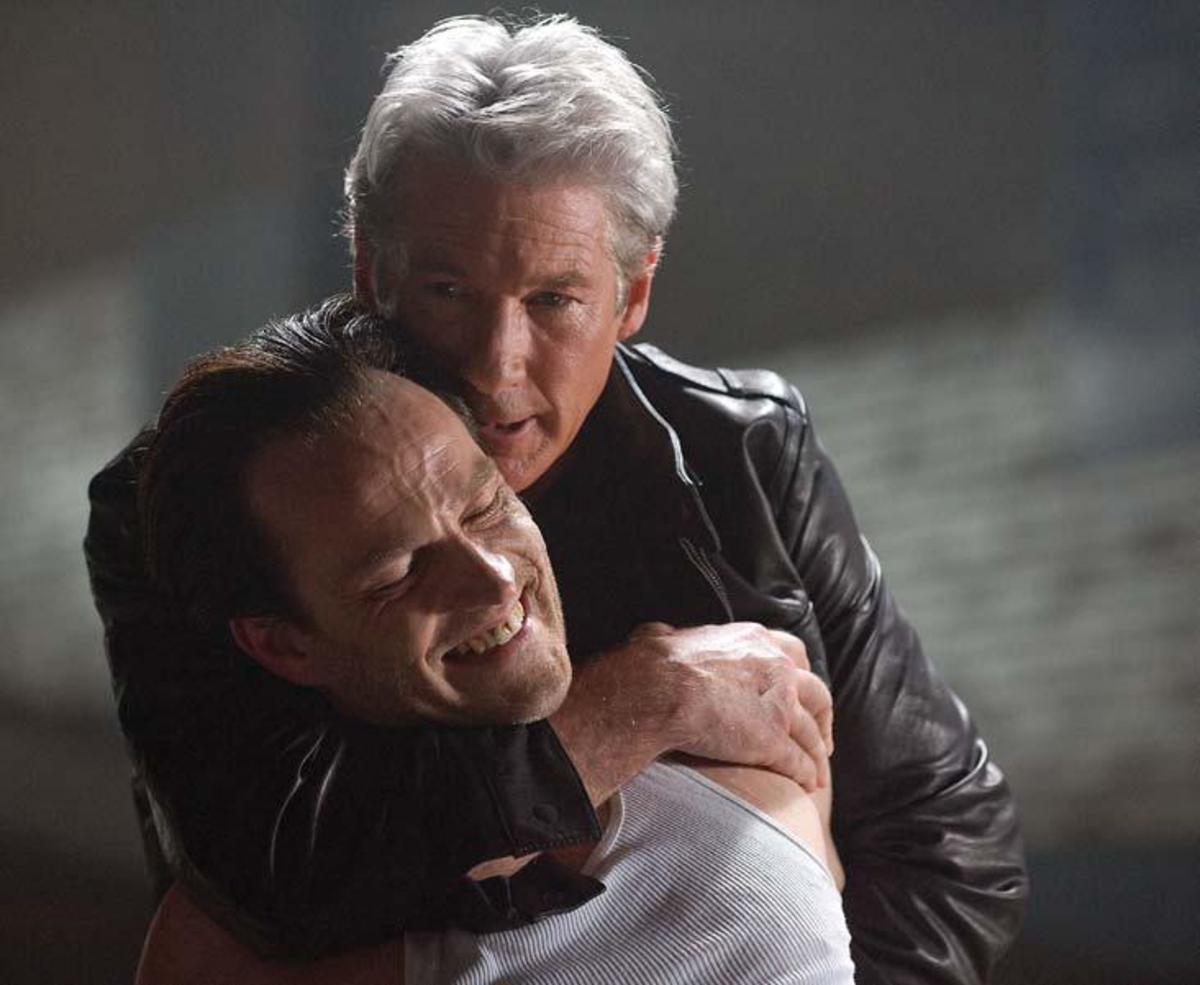 Gere and Stephen Moyer in 'The Double'