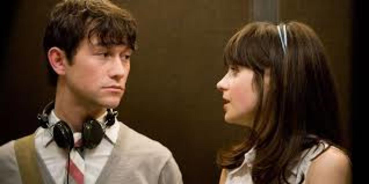 Joseph Gordon-Levitt and Zooey Deschanel in 500 DAYS OF SUMMER. Photo © Fox Searchlight 2009