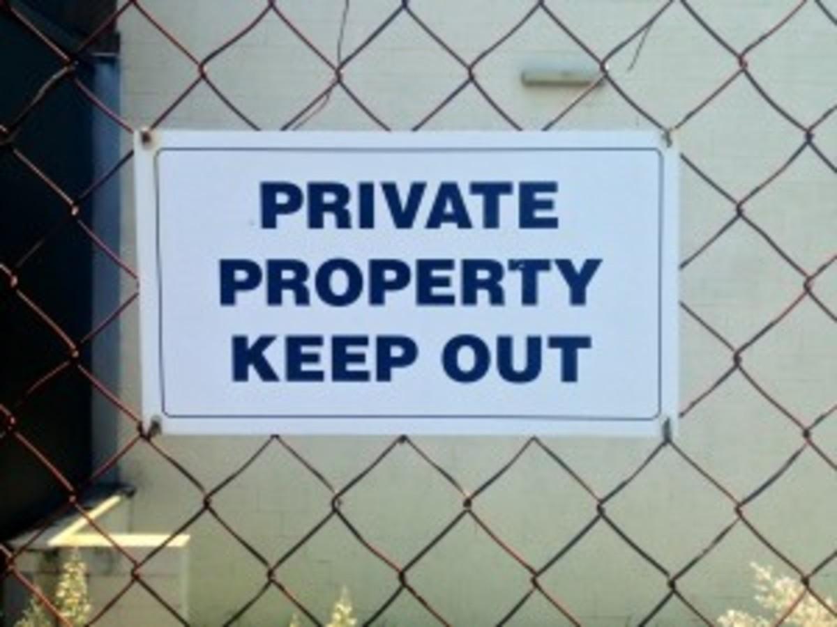 Damn kids! Stay off my lawn!