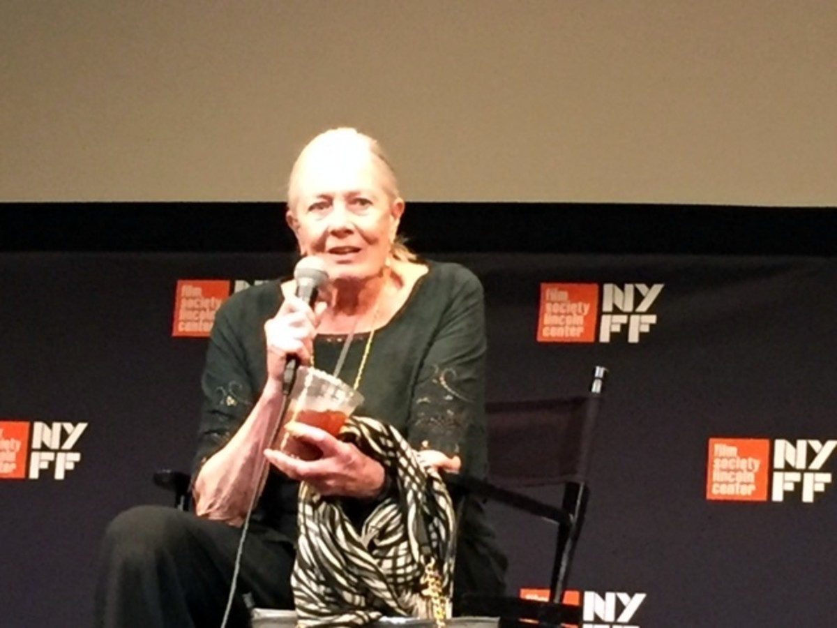 (Vanessa Redgrave at NYFF Press Conference)