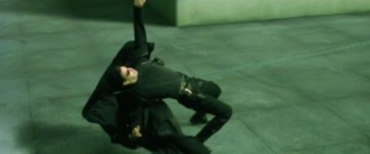 Neo dodges a bullet.