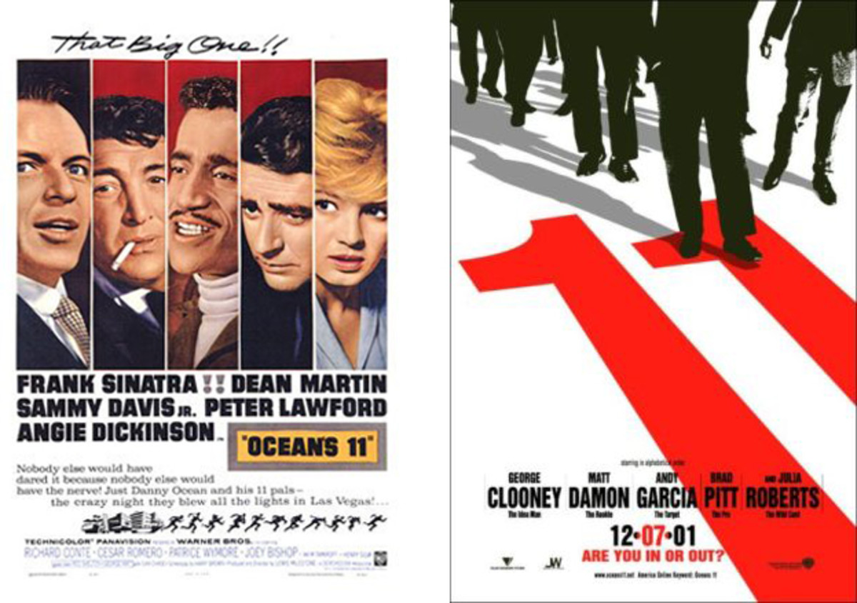 Both versions of OCEAN'S 11 engage audiences.
