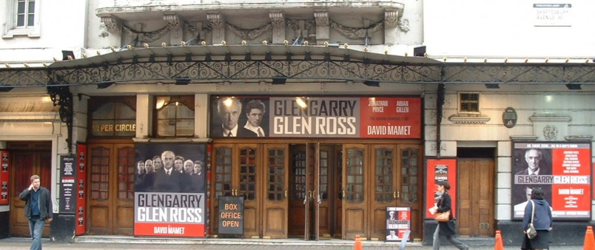 glengarry glen ross- london theater