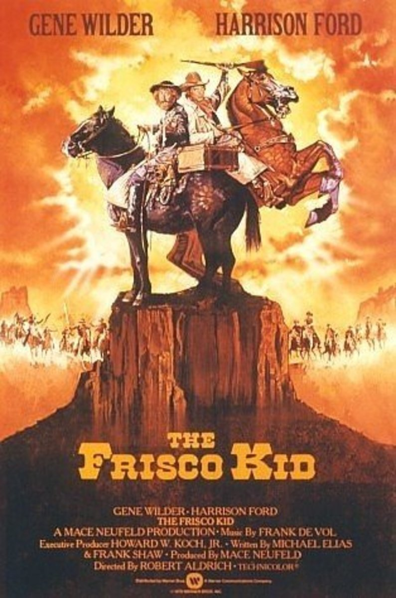 The comedy western road crime chase action film many Jewish boys were exposed to while growing up, The Frisco Kid.