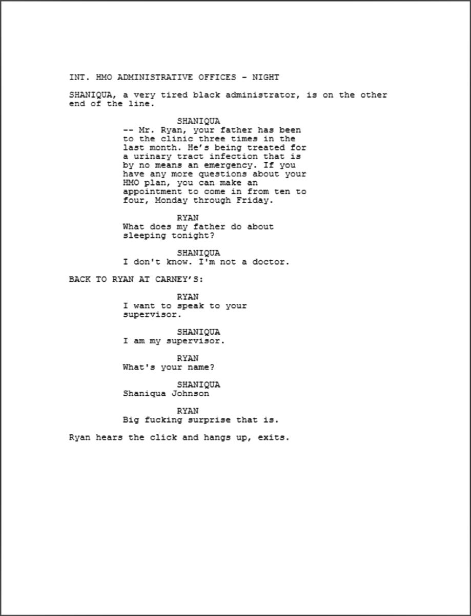The Writing of Crash