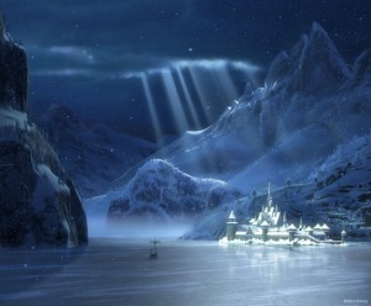 The Kingdom of Arendelle, home to a very complicated story.