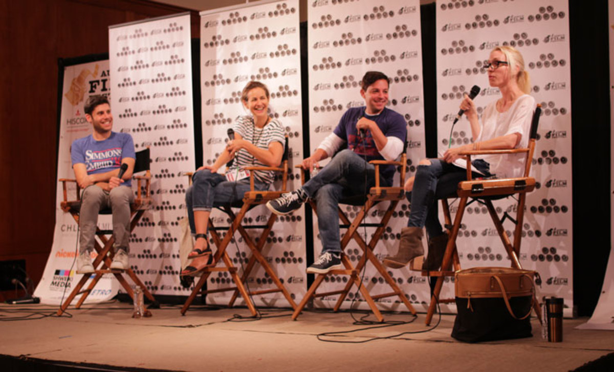 Austin Film Festival Romcom Panel. Left to Right: Photo Credit: Austin Film Festival and Arnold Wells