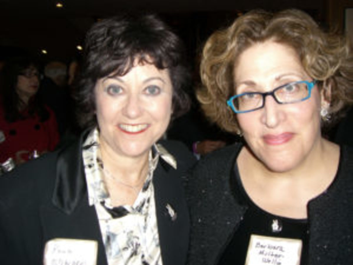 Rona Edwards (l) and Barbara Multer-Wellin (r) attend the International Documentary of America (IDA) Awards ceremony.