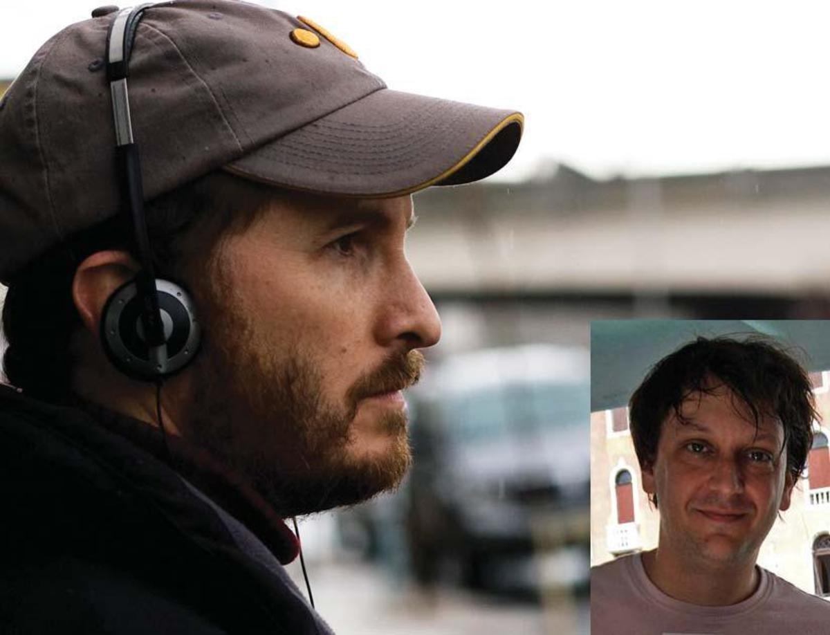 Director Darren Aronofsky (left) and screenwriter Robert Siegel (below)