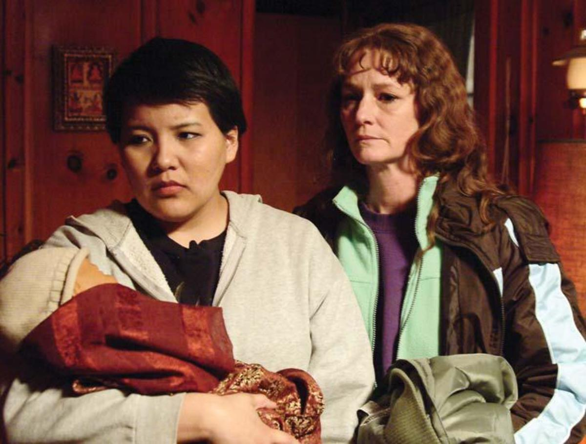 Misty Upham as Lila with Ray