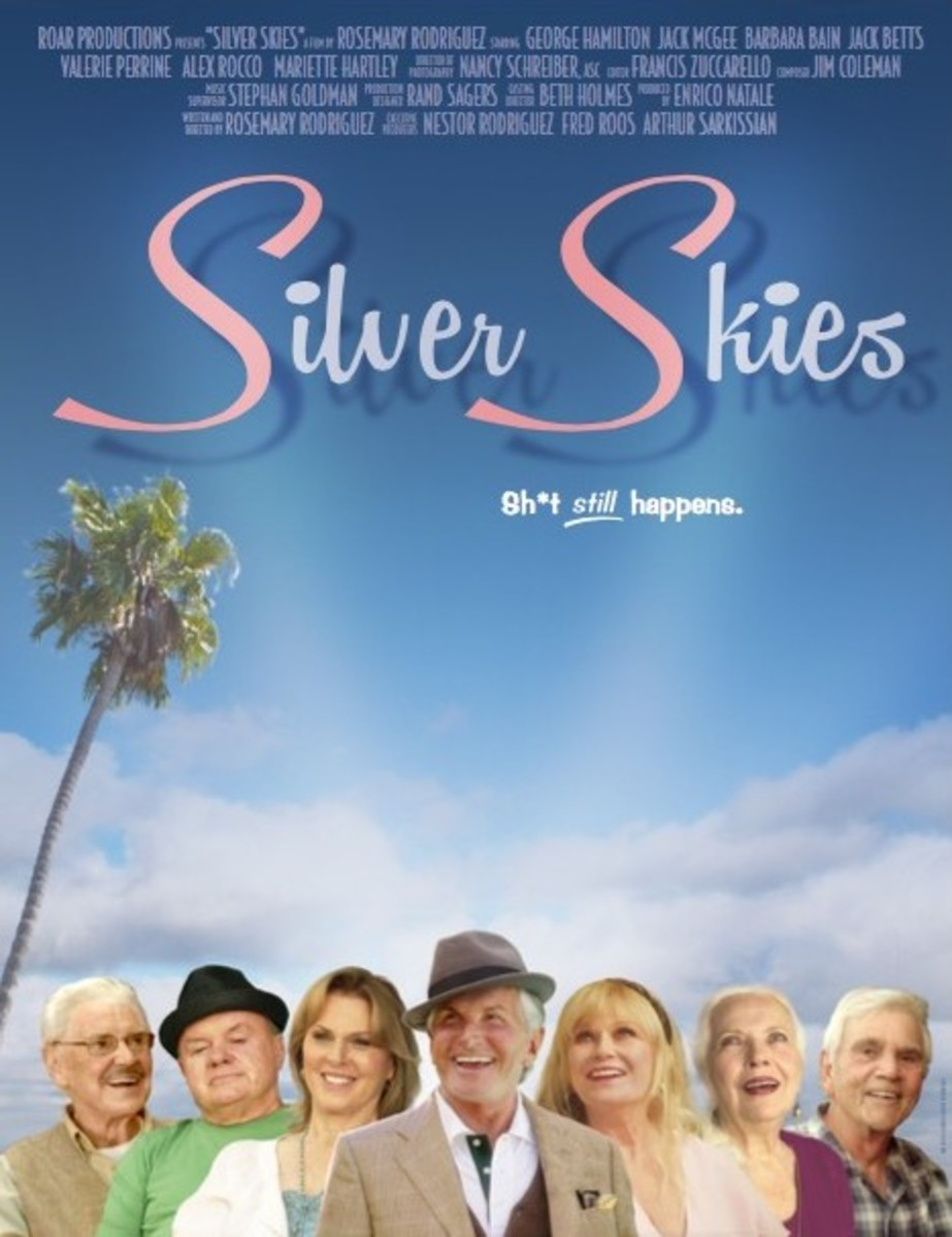 Silver Skies Poster