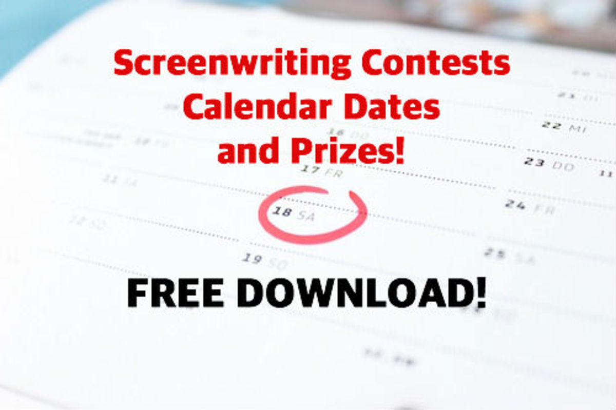 screenwriting contests calendar dates 4