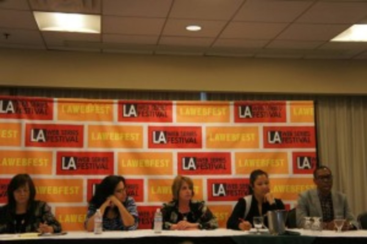 TV Network Fellowship panel at LAWEBFEST
