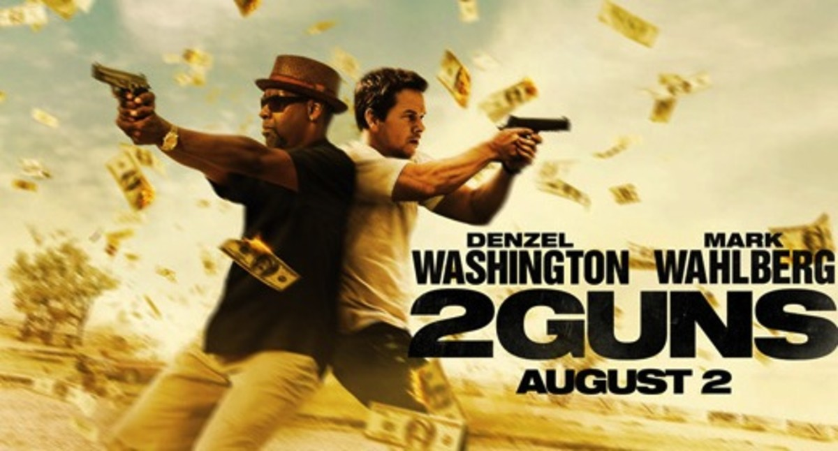 comic book movies: 2 Guns
