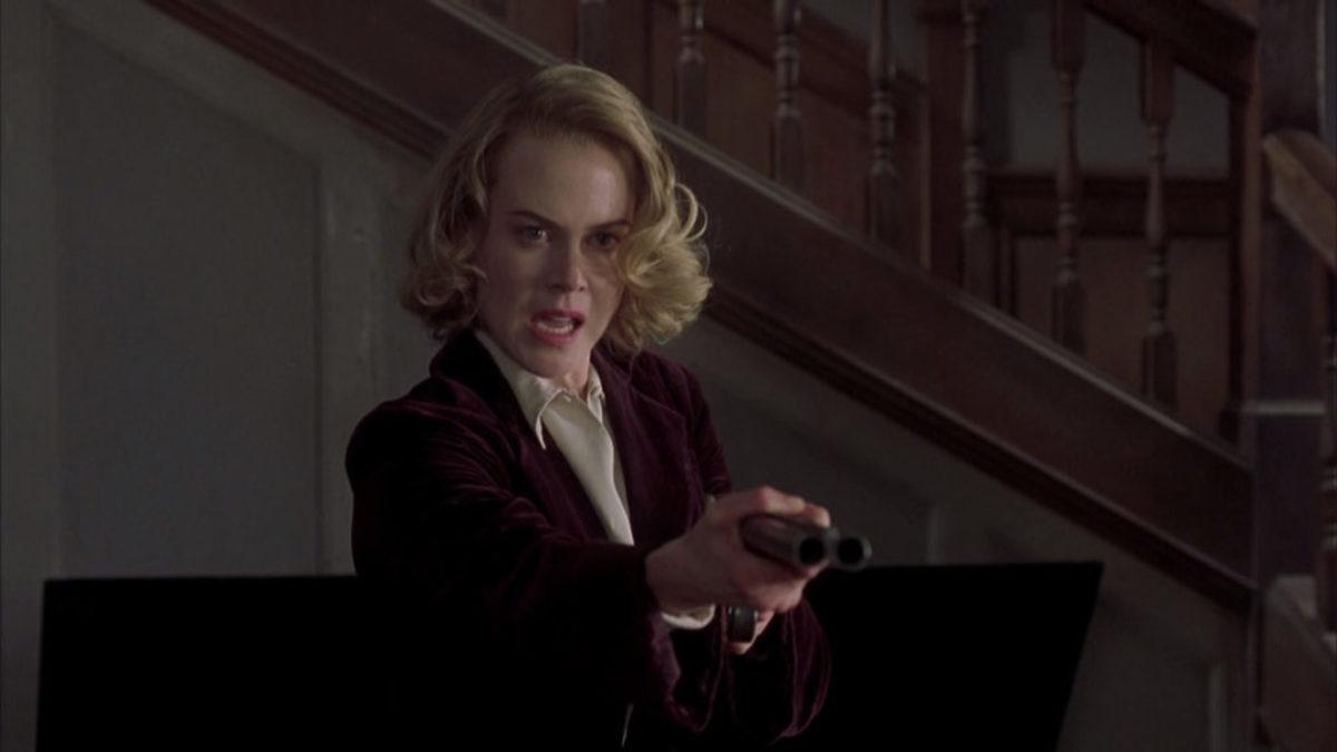 Nicole Kidman stars as Grace Stewart in The Others, written by Alejandro Amenábar.
