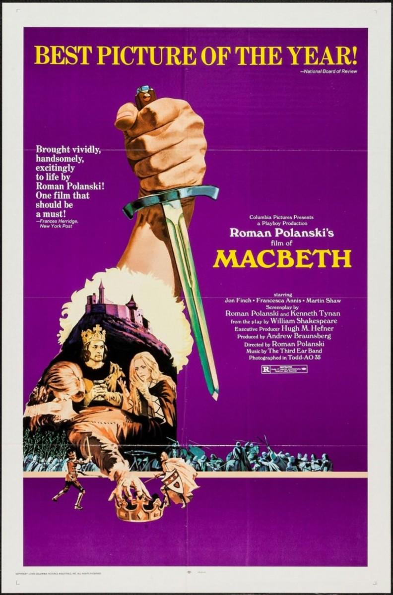 Polanski Macbeth poster - Shakespeare