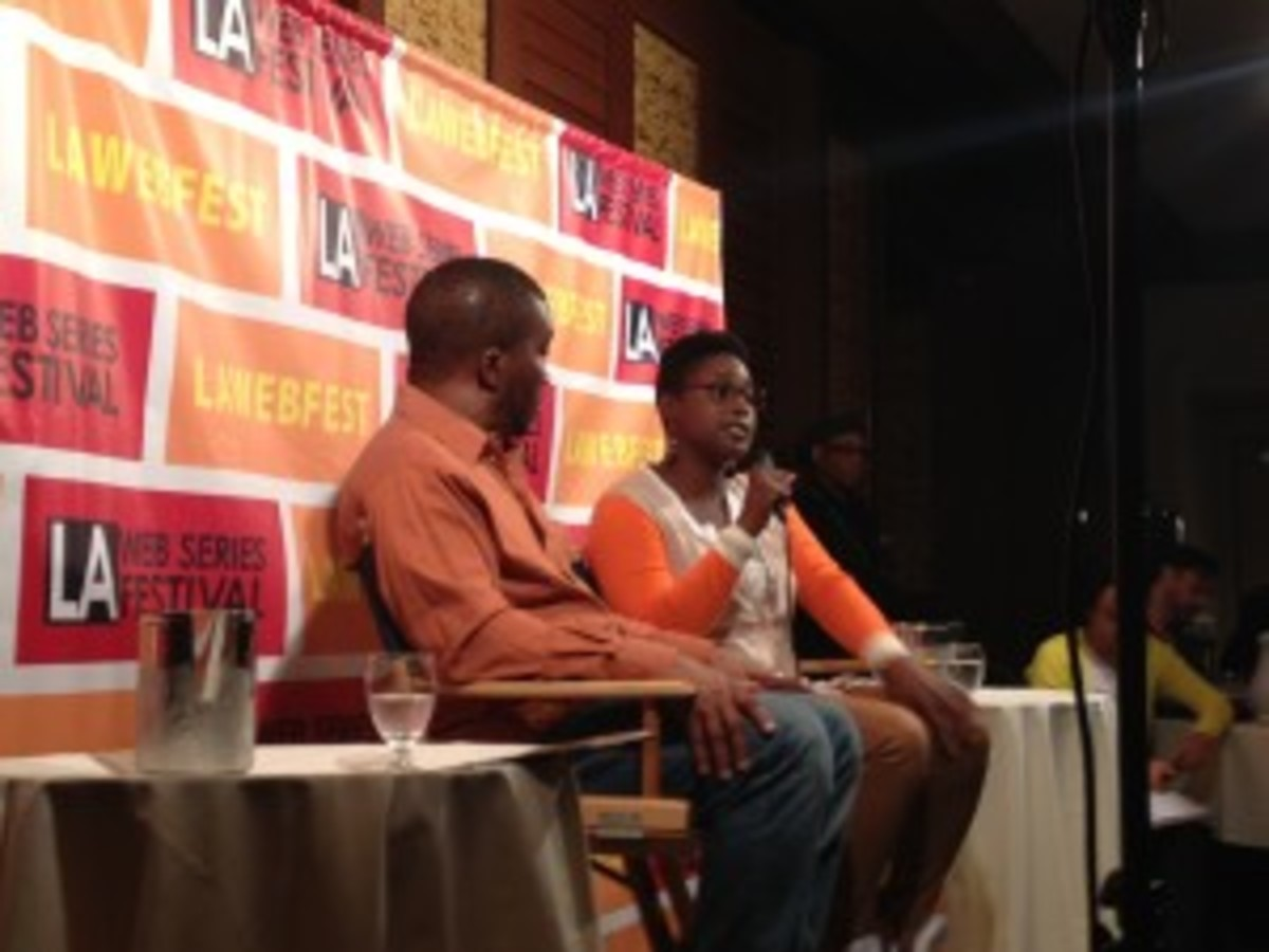 Superstar content creator Issa Rae at the Closing Day Breakfast